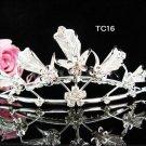 Flower girl comb;Bridal crystal comb ;wedding tiara;bride headpiece ;opera accessories#16