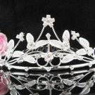 Flower girl comb;Bridal crystal comb ;wedding tiara;bride headpiece ;opera accessories#17