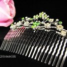 Fancy Floral hair comb;Bridal crystal comb ;wedding tiara;bride headpiece ;opera accessories#1065