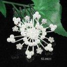 Cute Flower girl hair comb;Wedding tiara;Bridal crystal comb ;bride headpiece ;opera accessories#821