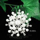 Cute Flower girl hair comb;Wedding tiara;Bridal crystal comb ;bride headpiece ;opera accessories#856