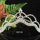 Silver Bridal crystal comb ;fancy hair comb;Wedding tiara;bride headpiece ;opera accessories#2110