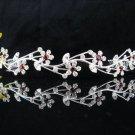 Silver Wedding tiara;crystal headband ;bride bridesmaid headpiece ;opera accessories#5305