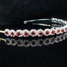 Silver Wedding tiara;crystal headband ;bride bridesmaid headpiece ;opera accessories#624r