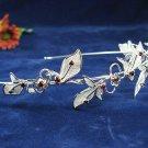 Silver Bridal tiara;crystal wedding headband ;bride bridesmaid headpiece ;opera accessories#1797r
