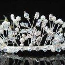 Silver Bridal tiara;crystal wedding headband ;bridesmaid headpiece ;opera accessories#7783