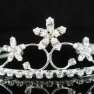 Silver Star Bridal tiara;crystal wedding tiara ;bridesmaid headpiece;Teen girt tiara#2368
