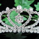 Sweetheart Bridal tiara;crystal wedding tiara ;bridesmaid headpiece;Teen girt headband #3422