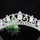 Silver Pearl Bridal Headband;crystal wedding tiara ;bridesmaid headpiece;Teen girt headband #4675