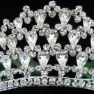 Elegance Silver Bridal imperial ;wedding tiara ;bridesmaid headpiece;Teen girt headband #760s