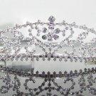 Sweet Silver Bridal tiara;crystal wedding tiara ;bridesmaid headpiece;Teen girt headband #6436