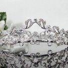 Sweet Silver Bridal tiara;crystal wedding tiara ;bridesmaid headpiece;Teen girt headband #8236
