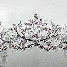 Sweet Silver Bridal tiara;crystal wedding tiara ;bridesmaid headpiece;Teen girt headband #9423