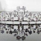 Silver Fancy Bridal tiara;crystal wedding tiara ;bridesmaid headpiece;Teen girt headband #1081