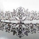 Silver Fancy Bridal tiara;crystal wedding tiara ;bridesmaid headpiece;Teen girt headband #1009