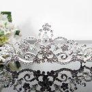 Silver Fancy Bridal tiara;crystal wedding tiara ;bridesmaid headpiece;Teen girt headband #1044