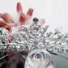 Silver Fancy Bridal tiara;crystal wedding tiara ;bridesmaid headpiece;Teen girt headband #1167