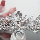 Silver Fancy Bridal tiara;crystal wedding tiara ;bridesmaid headpiece;Teen girt headband #1201
