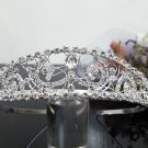 Silver Fancy Bridal tiara;crystal wedding tiara ;bridesmaid headpiece;Teen girt headband #2271