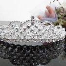 Silver Fancy Bridal tiara;crystal wedding tiara ;bridesmaid headpiece;Teen girt headband #716