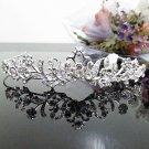Silver Fancy Bridal tiara;crystal wedding tiara ;bridesmaid headpiece;Teen girt headband #1118