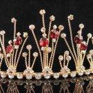 Golden twist Bridal tiara;crystal wedding tiara ;bridesmaid headpiece;bride headband #6176g