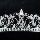 Silver Fancy Bride Hair accessories;Bridal Tiara;Crystal Bridesmaid Wedding Headband#8776