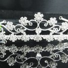 Fancy Bride Hair accessories;Daisy Bridal Headband;Silver Rhinestone Wedding Headband#7275