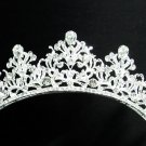 Gorgeous Bride regal ;Bridal Tiara;dancer regal ;Silver Rhinestone Wedding Headband;opera tiara#04