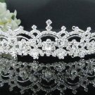 elegance silver Bridal Tiara;Bride regal ;dancer regal ;Rhinestone Wedding Headband;opera tiara#1517