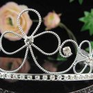Silver Bridal Tiara;Bride regal ;dancer regal ;Gorgeous Rhinestone Wedding Headband;opera tiara#4872