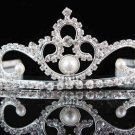 Silver Sweet Bridal Tiara;Bride regal ;dancer regal ;Rhinestone Wedding Headband;opera tiara#1370