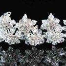 Silver Bride Imperial ;Bridal Tiara;dancer regal;comb;opera Rhinestone Wedding tiara#7279
