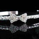 Sweet Dancer regal;Bridal Tiara;Bride Silver Imperial ;comb;opera Rhinestone Wedding tiara#7692