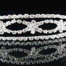 Sweet Dancer regal;Bridal Tiara;Bride Silver Imperial ;comb;opera Rhinestone Wedding tiara#4356