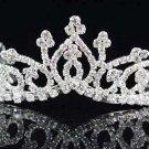 Sweet Dancer regal;Bridal Tiara;Bride Silver Imperial ;comb;opera Rhinestone Wedding tiara#7525