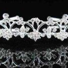 TWIN Bride Silver headband;Sweet Dancer regal;Bridal Tiara;opera Rhinestone Wedding tiara#524