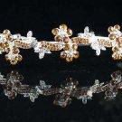 Floral Bride Silver headband;Sweet Dancer regal;Bridal Tiara;opera Rhinestone Wedding tiara#585y