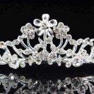 Fancy Bride Silver headband;Sweet Dancer regal;Bridal Tiara;opera Rhinestone Wedding tiara#784