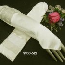 Ivory Finger-less Satin Bridesmaid gloves;Dancer Opera Accessories;Wedding Bridal gloves#52i