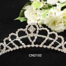 Silver Fancy Bride comb;Sweet Dancer regal;Bridal Tiara;opera Rhinestone Wedding tiara#2102