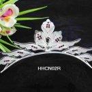Silver Fancy Bride Alloy comb;Dancer regal;Bridal Tiara;opera Rhinestone Wedding tiara#02r