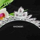 Silver Fancy Bride Alloy comb;Dancer regal;Bridal Tiara;opera Rhinestone Wedding tiara#03r