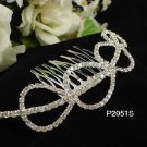 Sweet Silver Fancy Bride comb;Dancer regal;Bridal Tiara;opera Rhinestone Wedding tiara#2051