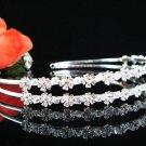 Silver Bridal Headband;Dancer regal;Bridesmaid Tiaras;opera Rhinestone Wedding tiara#1213