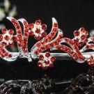 Silver Red Bridal Headpiece;Dancer regal;Bridesmaid Tiaras;opera Rhinestone Wedding tiara#608r