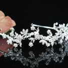 Silver Serpent Bridal Headpiece;Dancer regal;Bridesmaid Tiaras;opera Rhinestone Wedding tiara#1192