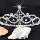Sweet Happy Birthday 16 Silver Rhinestone tiara;Fancy Headpiece;Dancer regal;Girls Tiaras #8376