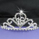 Sweet Happy Birthday 16 Silver Rhinestone tiara;Fancy Headpiece;Dancer regal;Girls Tiaras #9014