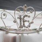 Sweet Happy Birthday 16 Silver Rhinestone tiara;Fancy Headpiece;Dancer regal;Girls Tiaras #1561